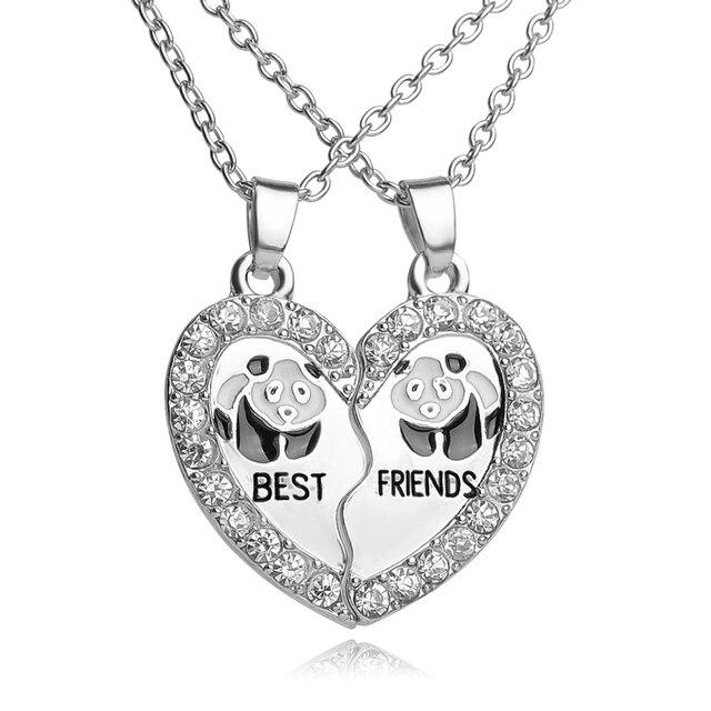 2 pcs fashion animal bff pendant necklace friendship best friends 2 pcs fashion animal bff pendant necklace friendship best friends forever necklaces penguin panda dolphin wholesale aloadofball Choice Image
