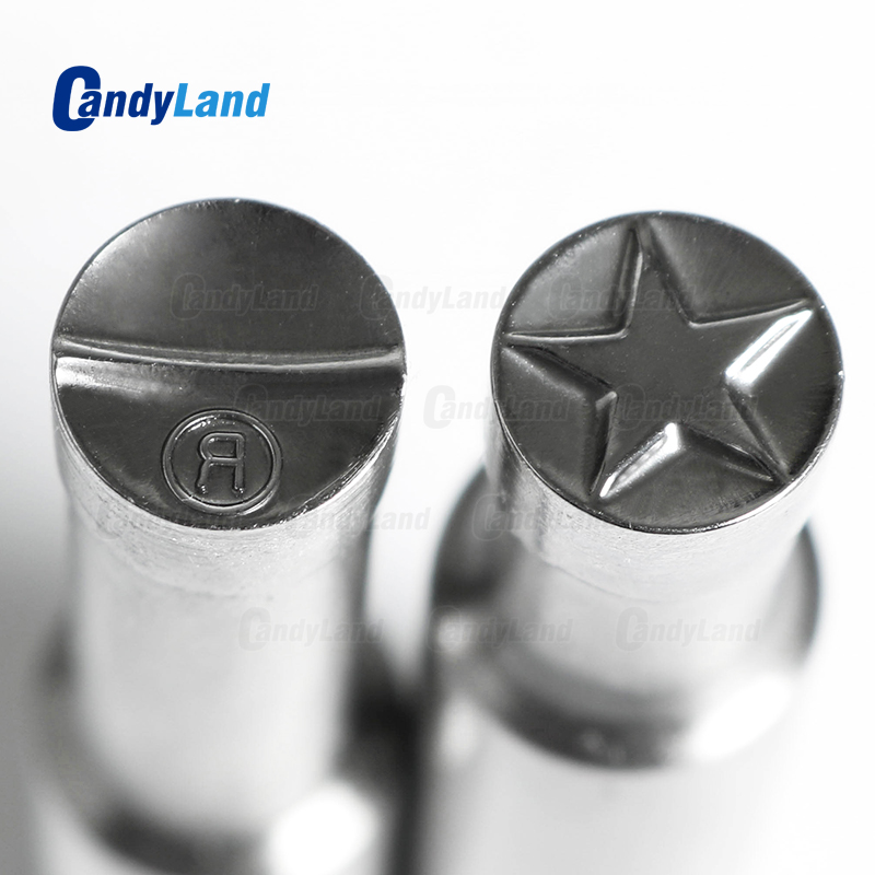 CandyLand Star R Milk Tablet Die 3D Punch Press Mold Candy Punching Die Custom Logo Calcium Tablet Punch Die For TDP5 MachineCandyLand Star R Milk Tablet Die 3D Punch Press Mold Candy Punching Die Custom Logo Calcium Tablet Punch Die For TDP5 Machine