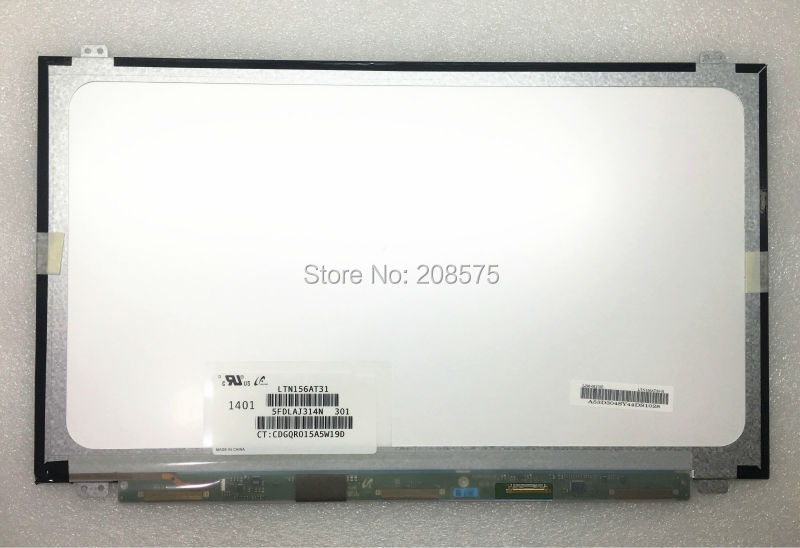 Free shipping! LTN156AT31 N156BGE-EB1 N156BGE-E31 LP156WHU TPA1 B156XTN03.1 Laptop LCD Screen 30PIN For Lenovo Y50 Z510 G50-70 цены