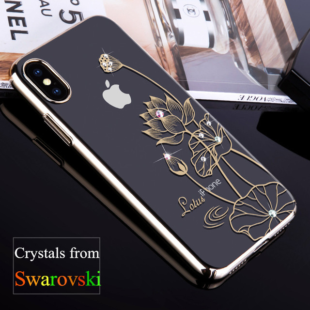 coque iphone x cristal