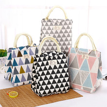 Fresh Insulated Women Lunch Bag Thermal Fashion Portable Tote Cooler For Female Kids Food Picnic Organizer