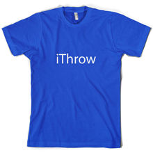 iThrow - Mens T-Shirt Javelin Discus Hammer 10 Colours Free UK P&P New T Shirts Funny Tops Tee Unisex