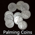 Palming Coins(Morgan Version) 10pcs/lot - Trick,Magic Tricks,Coin Magic,Props,Accessories,Gimmick,Comedy