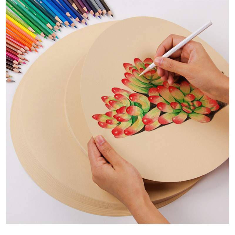 200g 50pcs Watercolor Painting Paper For School Painting Supplies White Black Sketch Watercolor Paper Pad Drawing Paper For Art