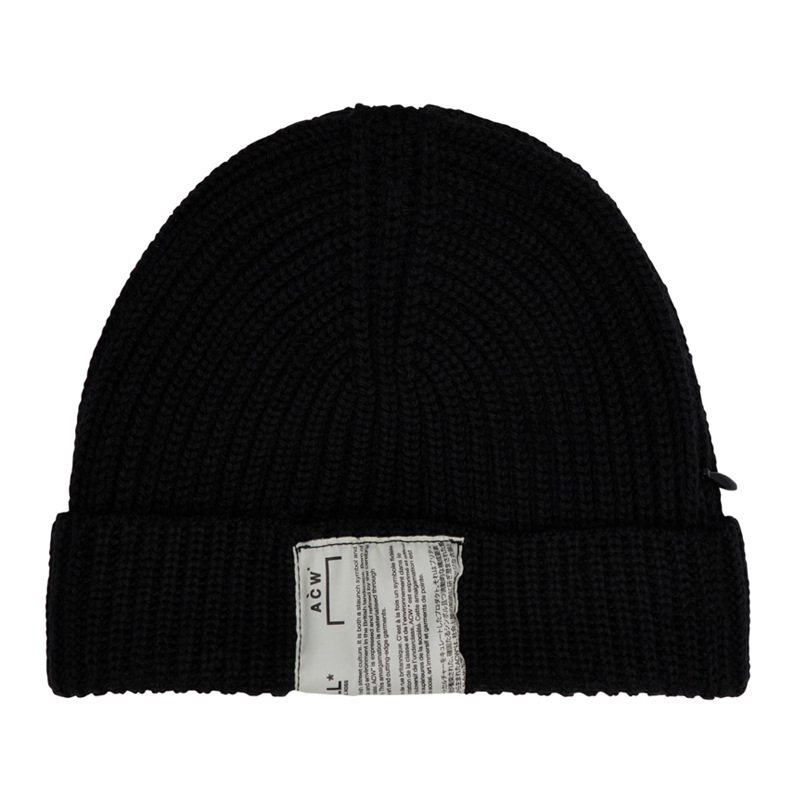 ACW men women caps kanye west antumn cotton A-COLD-WALL streetwear wool cap hip hop gift casual winter hats   Skullies     beanie