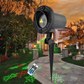Remote Red Green Star Snowflake Outdoor Laser Light Show Projector Waterproof Garden Holiday Christmas Tree Show Lighting