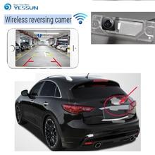 цена на YESSUN new HD night vision waterproof car reversing wireless camera For Infiniti FX35 FX37 FX50 FX30D QX70 S51 2009~2017