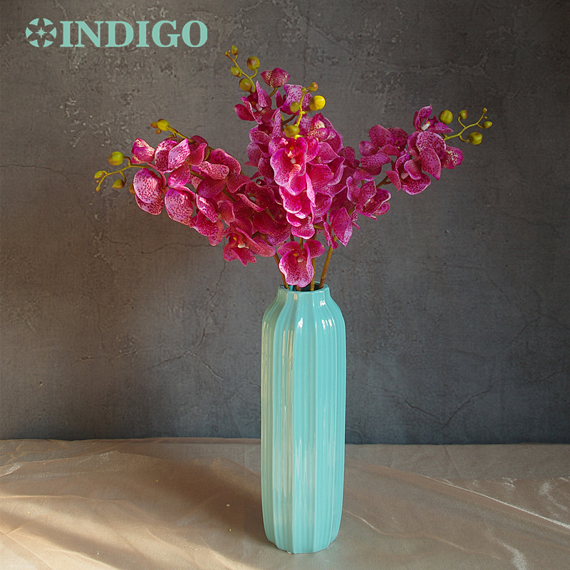 INDIGO-10 stks Luipaard Phalaenopsis Latex Coating Orchidee Real - Feestversiering en feestartikelen - Foto 3