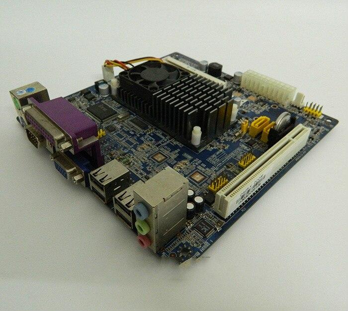 (Seconde main) D425 carte mère industrielle supermarché POS caisse enregistreuse à bord double coeur CPU
