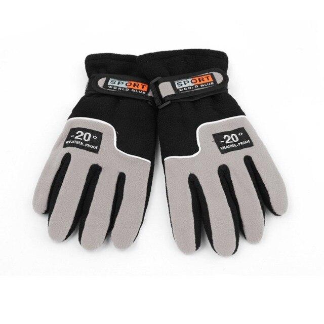 OUTAD зимние спортивные ветрозащитные лыжные перчатки теплые мотоциклетные перчатки на открытом воздухе Полный палец ветрозащитные перчатки luva Лидер продаж