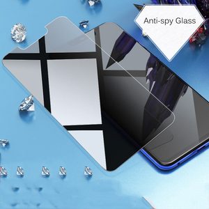 Image 2 - EXUNTON 9H זכוכית עבור Huawei נובה 3 3i 3E בתוספת לייט Nova3 Nova3i Nova3E Anti spy פרטיות מזג זכוכית מסך מגן סרט חדש
