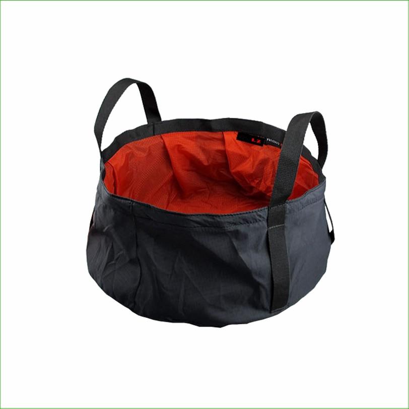 BG01F Ultra könnyű összecsukható medence Kemping Összecsukható vízmedence Vízálló táska Kemping vödör Horgászható Összecsukható medence