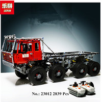В наличии Лепин 2839 23012 шт. натуральная техника серии Аракава Moc эвакуатор Татра 813 развивающие строительные блоки кирпичи игрушки