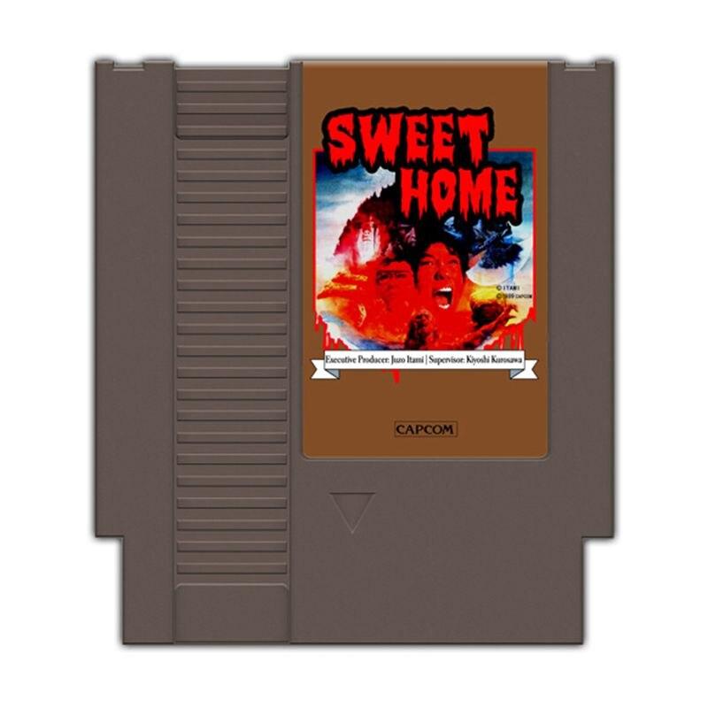 Sweet Home Region Free 72Pins 8Bit Game Card