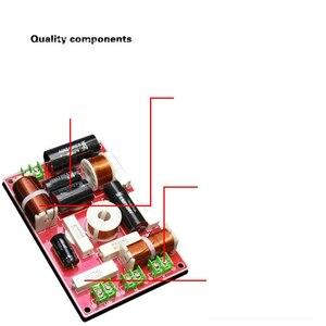 Image 4 - 1 個/2 個ハイファイオーディオユニバーサルスピーカー 3 ユニットオーディオ周波数分周器 3 ウェイクロスオーバーフィルター