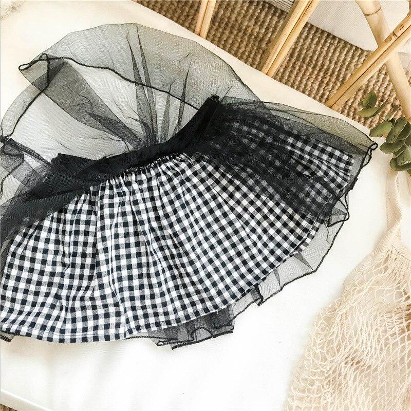 babymeisje TUTU rok chiffon geplooid gaas kinderen lente zomer tutu - Babykleding - Foto 3