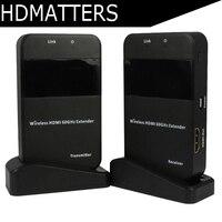 Беспроводной 60 г HDMI удлинитель передатчик приемник комплект до 30 м поддерживает разрешения до HD 1080 P для HDTV дисплей