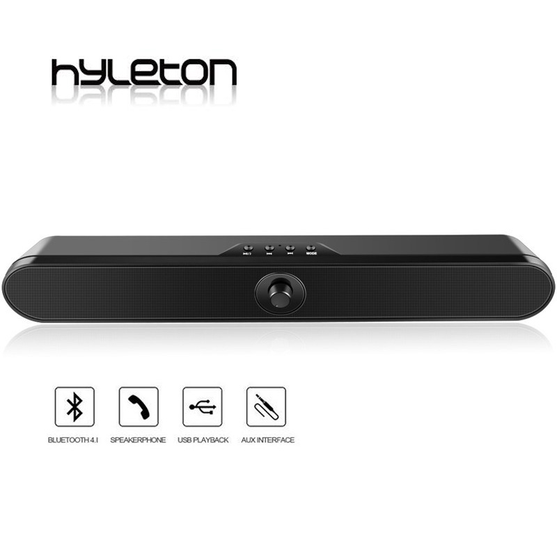 Hyleton TV Sound Bar LP-s11 Bluetooth speaker wireless Home Theater Surround Audio Remote Control Support AUX/Optical/TF