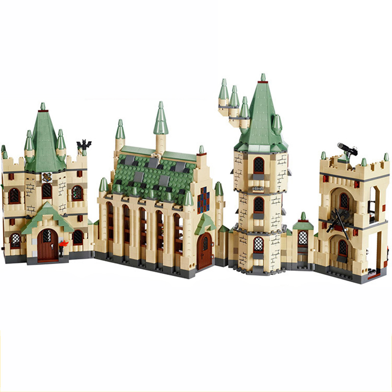 16030 Movie Series Harri Potter Hogwarts Castle Compatible with Legoed Building Blocks Bricks Set Toys For Children Xmas Gift