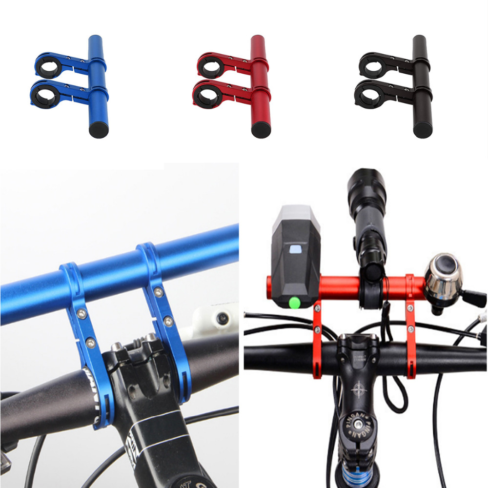 MTB Bike Handlebar Extension Mount Bicycle Handle Bar Bracket Extender Holder