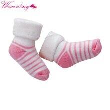 0 3Y Baby Stripe Socks Cotton Thickening Warm Towel Sock Children s Soft Sock Relent Terry