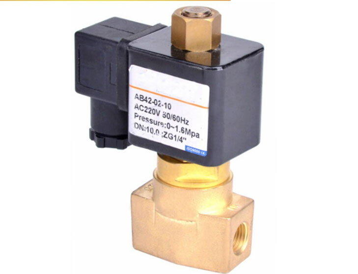 1/4 Normally open Air,Water,Oil brass Solenoid Valve 1 2 built side inlet floating ball valve automatic water level control valve for water tank f water tank water tower