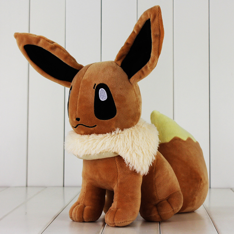 33cm Big Size Japanese Anime Cute Eevee Plush Toy Soft Dolls With Tag Gift for Children nokotion 646176 001 laptop motherboard for hp cq43 intel hm55 ati hd 6370 ddr3 mainboard full tested