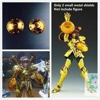 Saint Seiya Cloth Myth 2 metal small shields for Bandai Libra EX Gold Dohko Shiryu S008