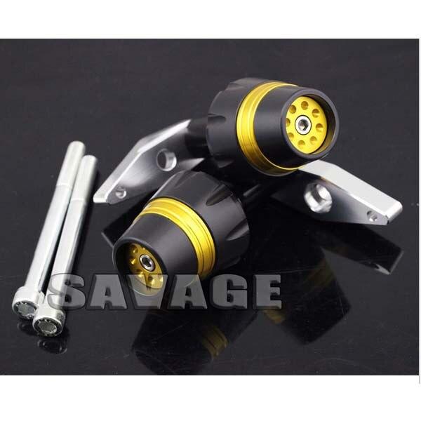 New Design Motorcycle Frame Sliders Crash Protector Falling Protection For KAWASAKI ER-6F 2012-2014 Golden