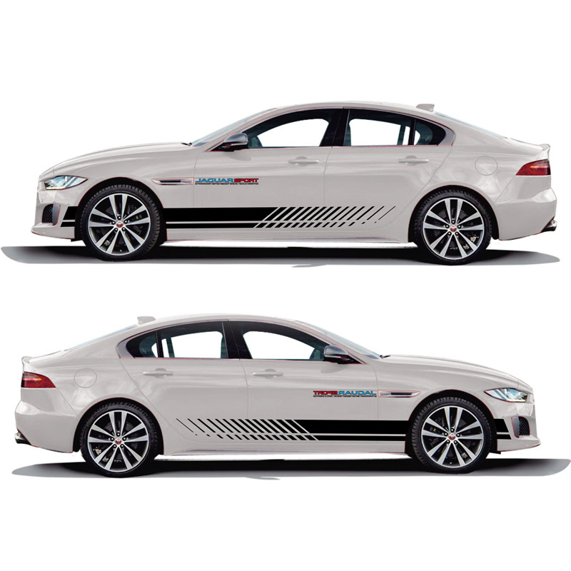 TAIYAO car styling sport car sticker car accessories for Jaguar XE SV R Sport Both Side