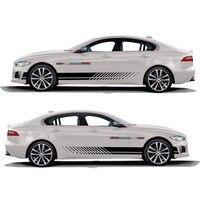 TAIYAO car styling sport car sticker car accessories for Jaguar XE SV R Sport Both Side Sticker Car styling
