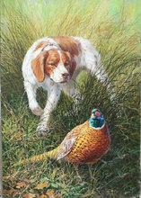 Needlework Full diamond embroidery Pheasant and dog  mosaic Home Decoration diy 5d  painting Cross Stitch picture diamond embroidery 5d shepherd dog image painting mosaic cross stitch gift needlework home decoration hobby handicrafts
