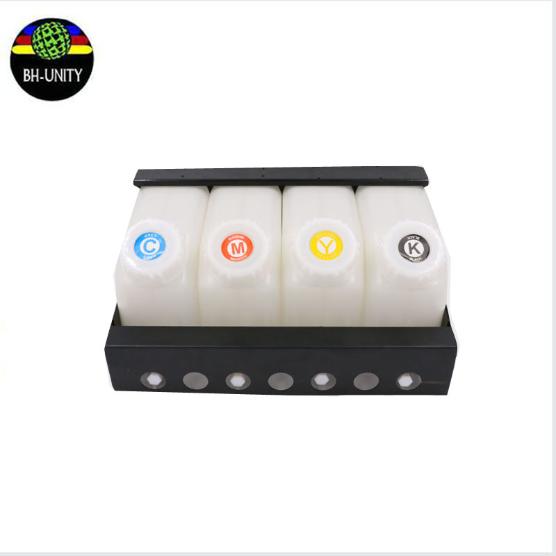 high quality Mutoh VJ-1624 Printer Refill Ink Cartridge 4 Ink Tanks + 4 Ink Cartridges one set ink tank system for sell free shipping printer t157 cartridge refill pigment ink for r3000 printer ink cartridge
