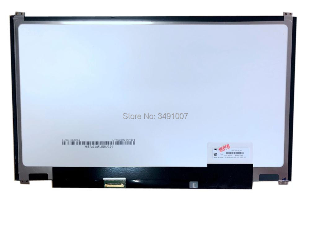 LTN133HL06-201 13.3 LED LCD Screen IPS Laptop Display Panel Slim ltn141bt08 fit lt141deq8b00 lcd screen1440 900 slim led panel