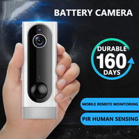 Newest 1080P HD Baby Monitor IP Camera WiFi Wireless Auto Tracking Night Vision Home Security Surveillance Network Mini Camera