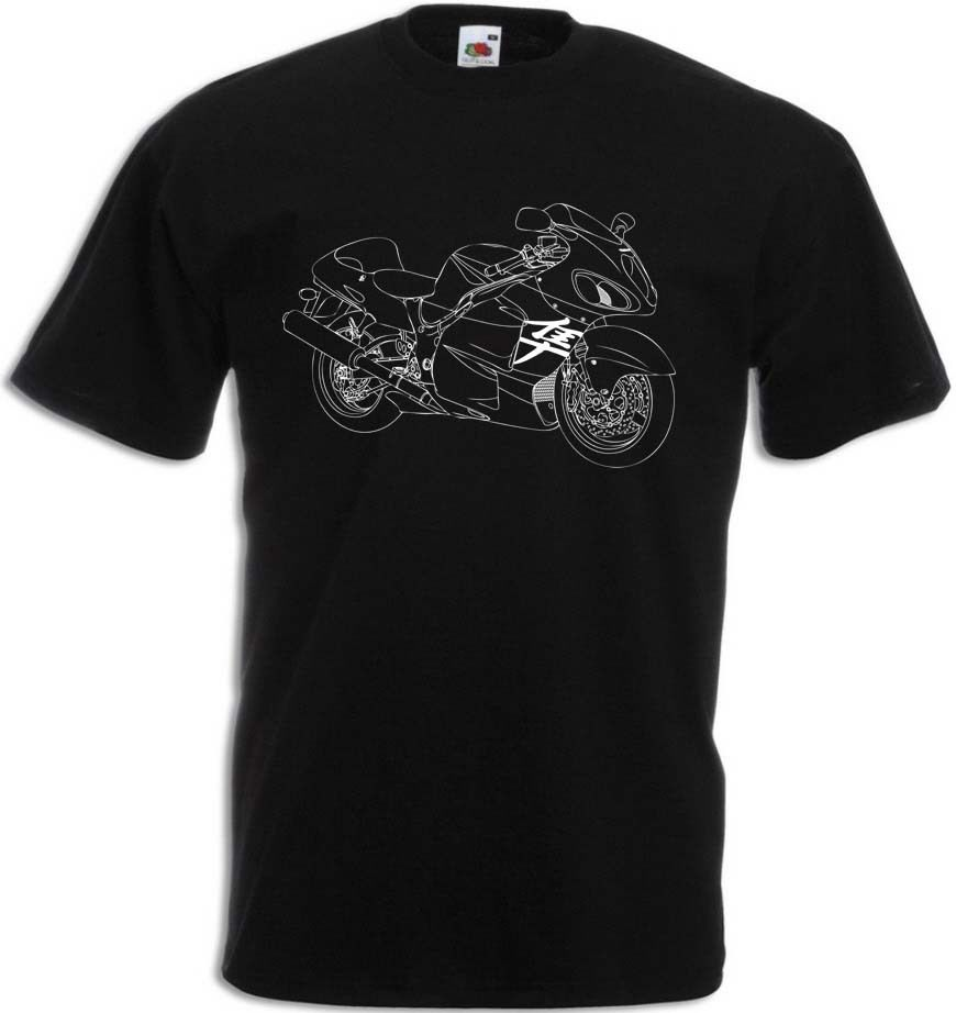 2018 новый летний Для мужчин хип-хоп Футболка GSX-R 1300 футболка улице мотоцикл GSX R 1300 тонкая футболка