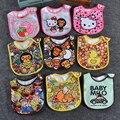 2pcs Infant baby bibs baby boy girl bibs waterproof bibs infant saliva towels bavoirs bebe baby bandana bibs feeding wear WZ14