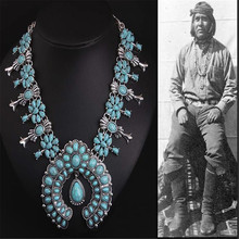Argento Fiore Collana Dellannata Navajo Indiano In Rilievo Zuni Inlay Coral