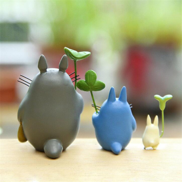 Totoro My Neighbor with Umbrella Doll Toys