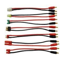 Tamiya/Mini Tamiya/MPX/TRX/XT Deans/HXT 4,0 мм/HXT 3,5 мм зарядный провод 4 мм банановые вилки зарядный кабель силиконовый провод