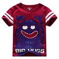 little maven Children T-Shirts Baby Boy T Shirts Big Hugs Cartoon Baby Boy Clothes Tee Shirts Kids Short Sleeve Cotton