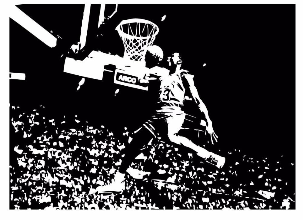 Basketball Wall Art Decor