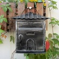 European-style villa mailbox outdoor retro bills box storage box suggestion box mail box genuine