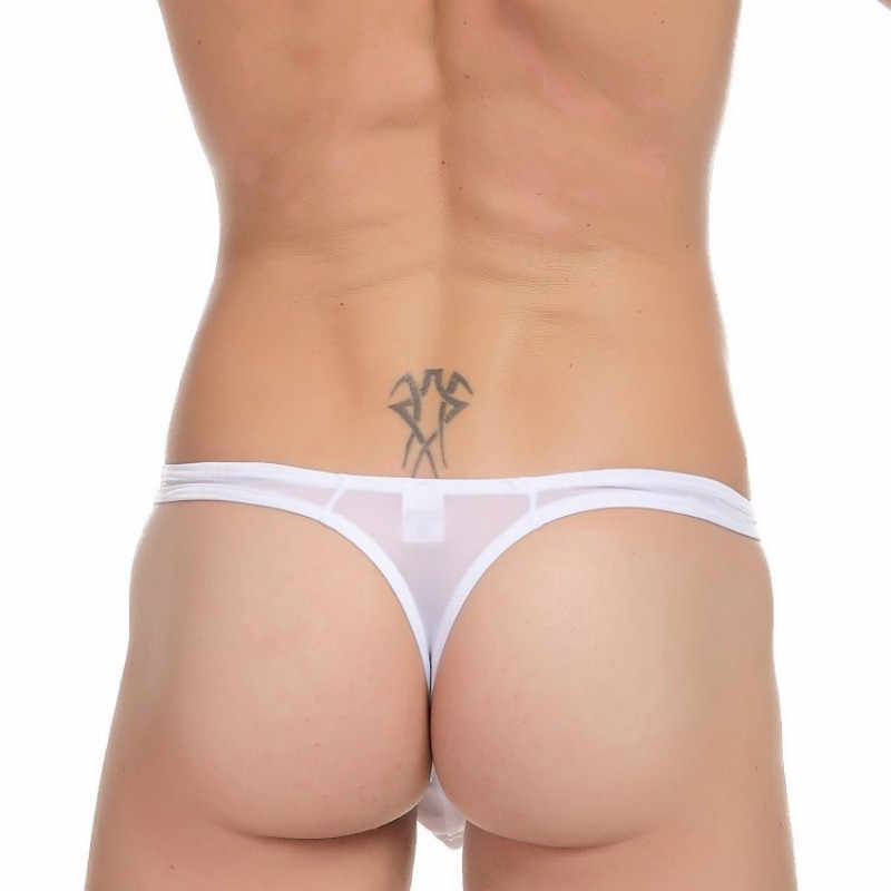 Mens Sheer Badmode Thong Ondergoed Hot Sexy Man Zwemmen Slips Badpak Bikini Strand Shorts Slipje Geen Tether Gay Zwembroek