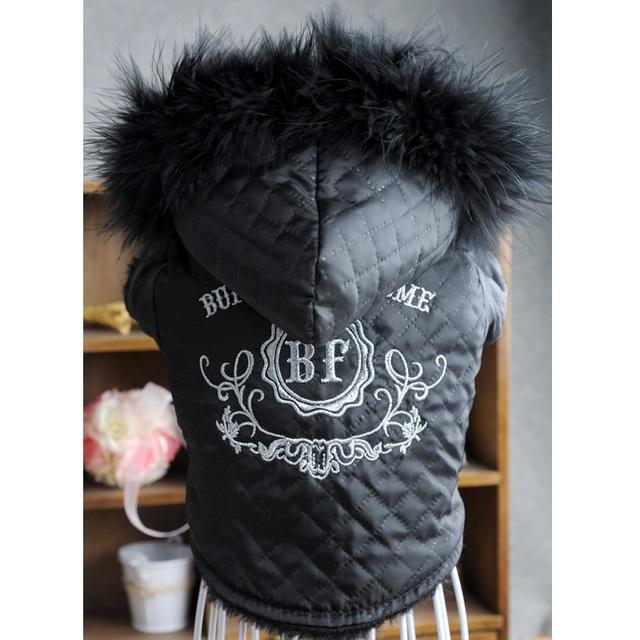 Reversible Dog Jacket With Hood