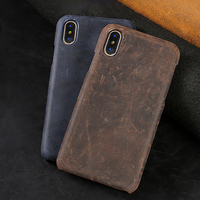 Genuine Leather Phone Case For Xiaomi Mi 8 8SE 5X A1 6X A2 Max 2 3 Original cowhide Retro Texture For Redmi Note 5 Pro 5 Plus 4X