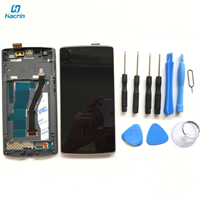 OnePlus One LCD Display Touch Screen Frame 1920X1080 FHD Glass Panel Tools Digitizer Accessories For OnePlus