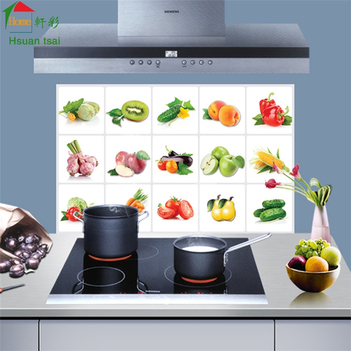 Kitchen Tiles Fruits Vegetables: Aliexpress.com : Buy Fruits Vegetables Puzzle Kitchen