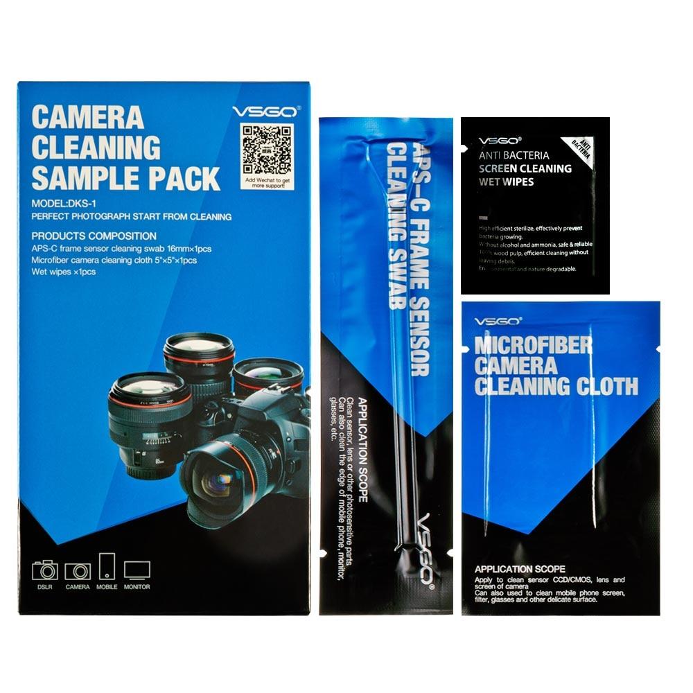 VSGO 3 In 1 Camera Cleaning Kit for Canon Nikon Sony Fujifilm Lens Sensor CCD/CMOS