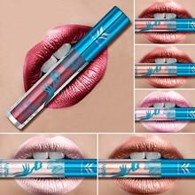 Здесь можно купить   HUAMIANLI 12 Colors Options Shimmer Long Lasting Liquid Lip Gloss Matte Batom Makeup Metallic Lipstick Lips Moisturizer LipGloss Makeup